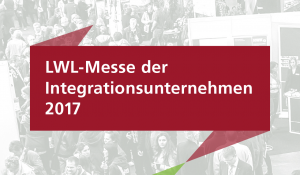 Die LWL-Messe-Banderole.