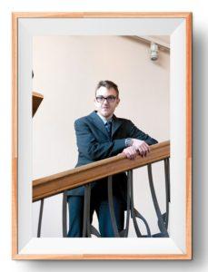 Die Fotografie »Jerome, CEO« von Dagmar Lippok und Jens Sundheim, 2016.