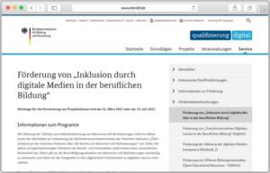Website-Vorschau BMBF