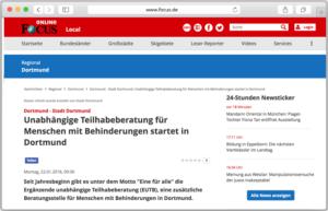 Website mit dem FOCUS-Online-Artikel