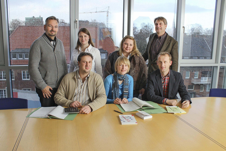 Das Team des LWL-Inklusionsamts Arbeit