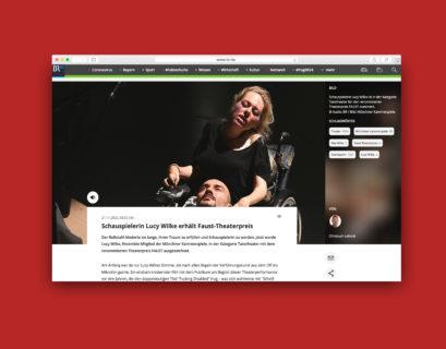 Screenshot des Artikels auf br.de