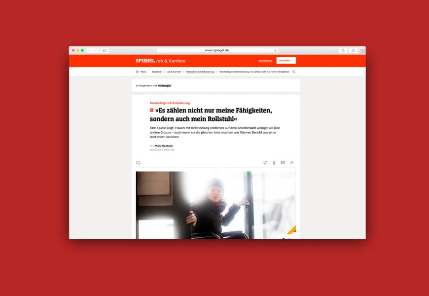 Website-Vorschau des Spiegel-Artikels