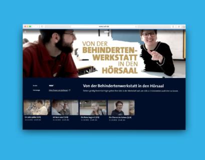 Website-Screenshot der WDR-Filmserie in der Mediathek