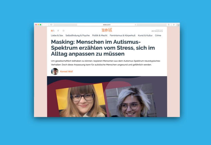 Screenshot des Artikels auf ze.tt